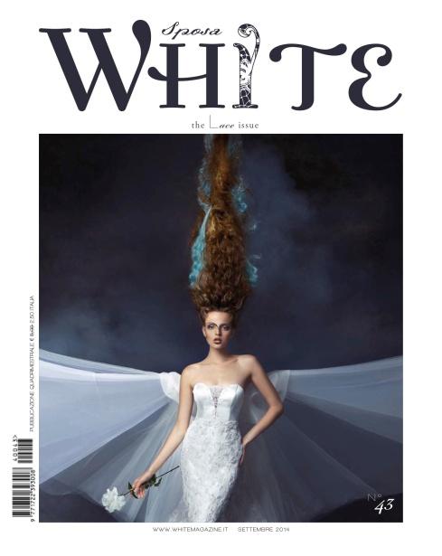 copertina white sposa sett